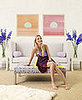 Gwyneth Paltrow's Feminine Hamptons Home