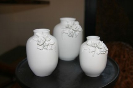 Etsy Find: White Notes 3-D Flower Vase