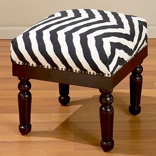 Steal of the Day: Zebra Kilim Stool