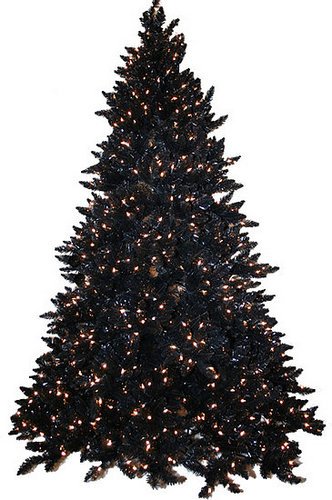 Love It or Hate It?  Black Christmas Tree