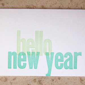 Holiday Card Guide: Hello New Year