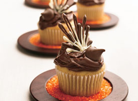 Thanksgiving Turkey cupcakes (betty crocker)