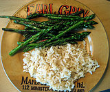 Asparagus and Brown Rice