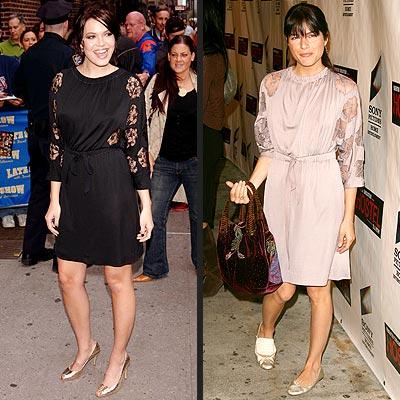 Fashion Faceoff: Mandy Moore vs. Selma Blair