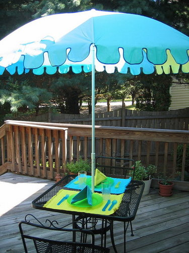 Entertaining for Two -- Outdoors