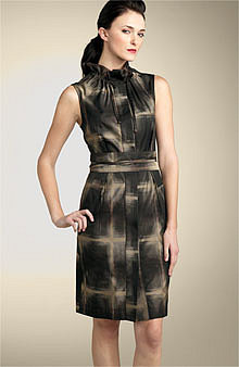 L.A.M.B Taffeta Dress