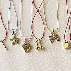 RedEnvelope - wish charm necklaces