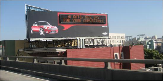 Mini Cooper Launches Talking Billboards! I Want One!