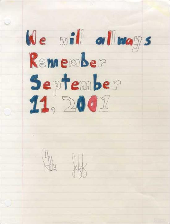 9/11 - We Remember