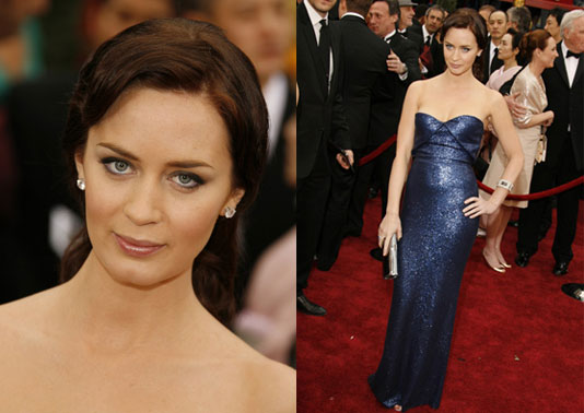 Oscars Red Carpet: Emily Blunt