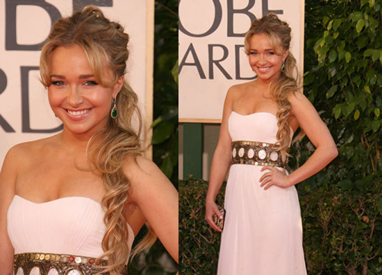 The Golden Globes Red Carpet: Hayden Panettiere