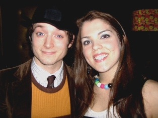 Celebrity Sighting: Partying with Elijah Wood