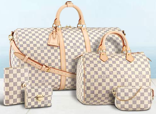 The Luxe Louis Vuitton Damier Azur Collection