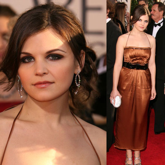 The Golden Globes Red Carpet: Ginnifer Goodwin