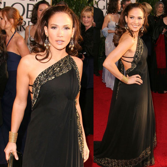 The Golden Globes Red Carpet: Jennifer Lopez