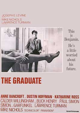 "My favorite movie ever - ""The Graduate"""