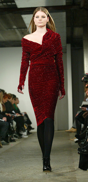 London Fashion Week, Fall 2007: Christopher Kane