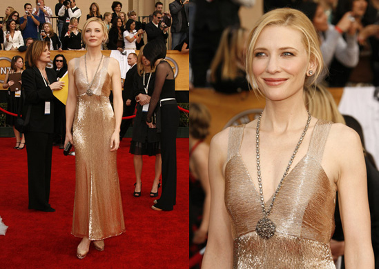 SAG Awards Red Carpet: Cate Blanchett