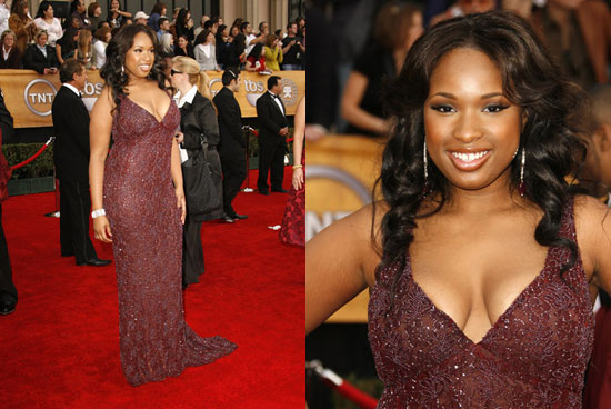 SAG Awards Red Carpet: Jennifer Hudson