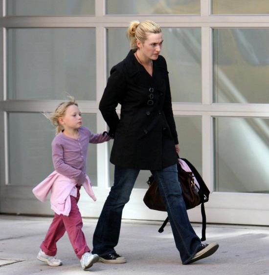 Kate Winslet, Full Time Mom
