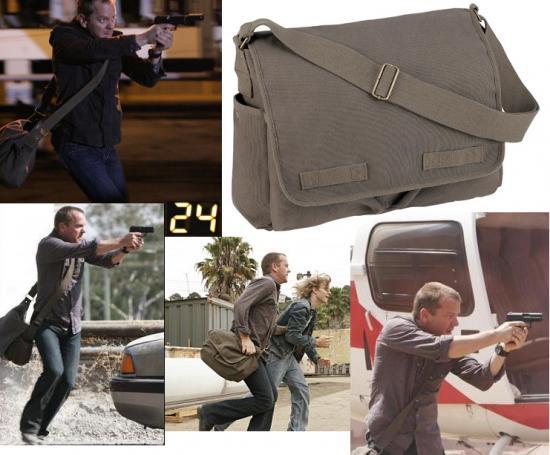 Jack Bauer Messenger Bag