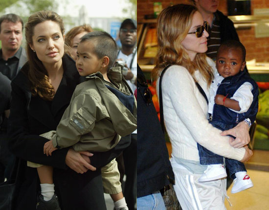 Angelina Attacks Madonna