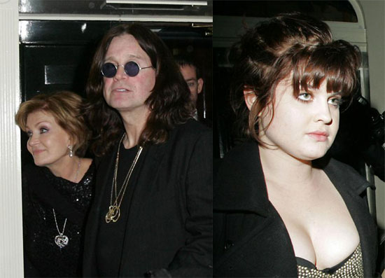 The Osbournes Show Their Holiday Spirit