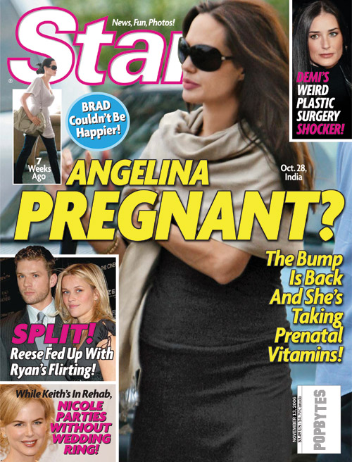 New Angelina Pregnancy Rumors