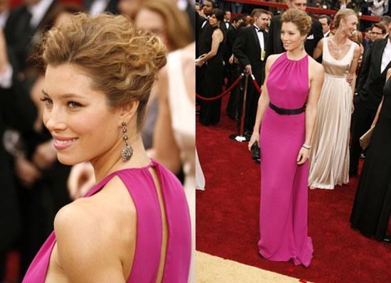 Oscars Red Carpet: Jessica Biel