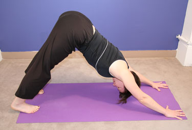 "Yoga ""Poser"": Downward Facing Dog"