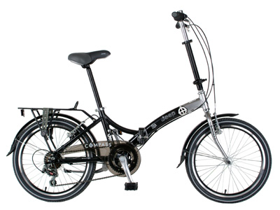 Get in Gear: Jeep Compass Folding Bike