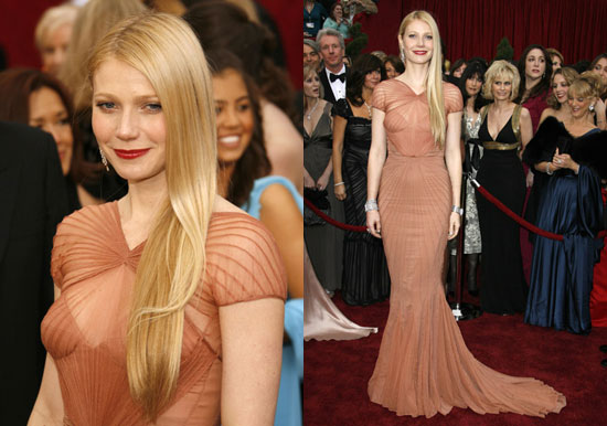 Oscars Red Carpet: Gwyneth Paltrow