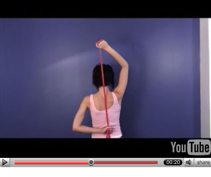 Get Fab Arms: Overhead Triceps Extension