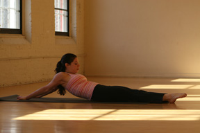 Stretch It:  Sleeping Shoulder Stretch