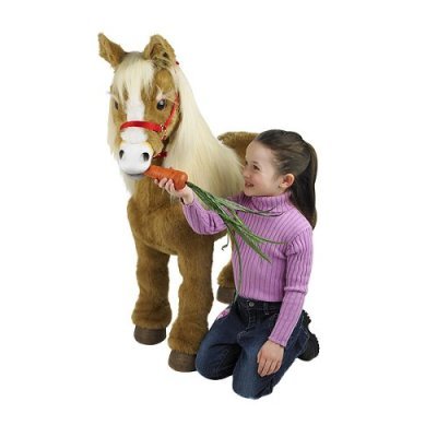 Product of the Day: Butterscotch the Interactive Plush Pony
