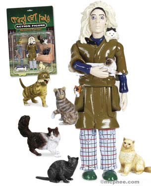 Product of the Day: Crazy Cat Lady Action Figure