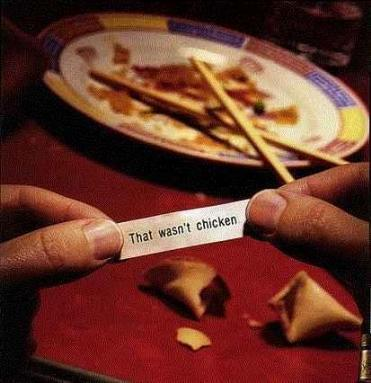 Mis-Fortune Cookie