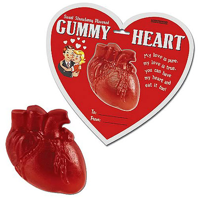 Product of the Day: Gummy Heart Candies