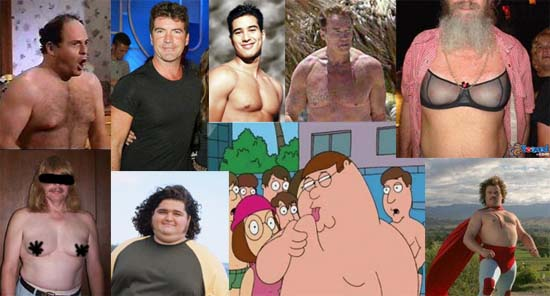 "Who Has the Worst ""Moobs""?"