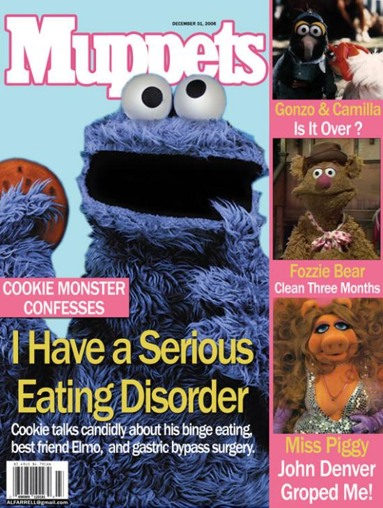 If tabloids were about muppets...