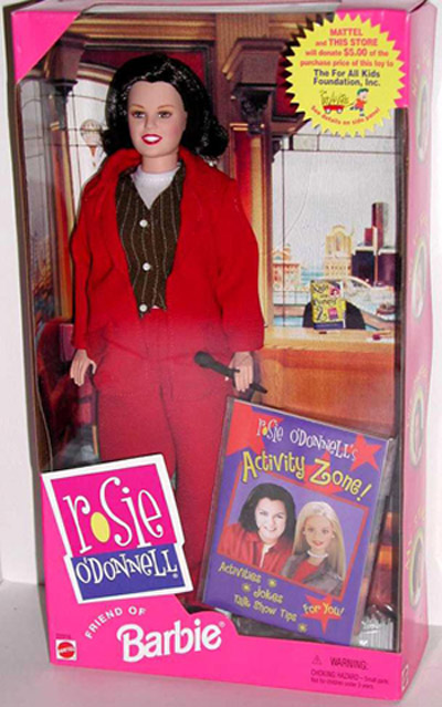 Product of the Day: Barbie's Friend...Rosie O'Donnell?