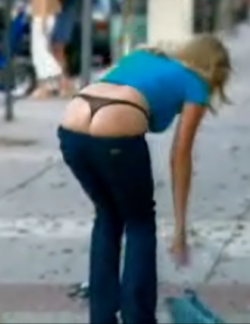 Taking Your Whale Tail For A Walk?