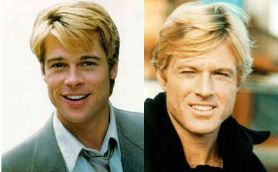 Robert Redford Brad Pitt Robert Redford Brad Pi...