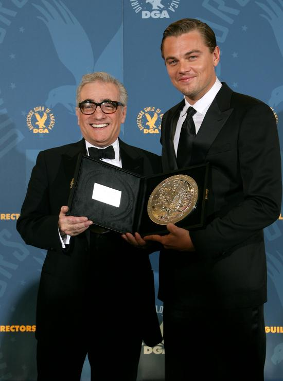 Scorcese Scores at the 2006 Directors Guild Awards