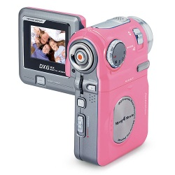 Fun Bubble Gum Pink Digital Camcorder