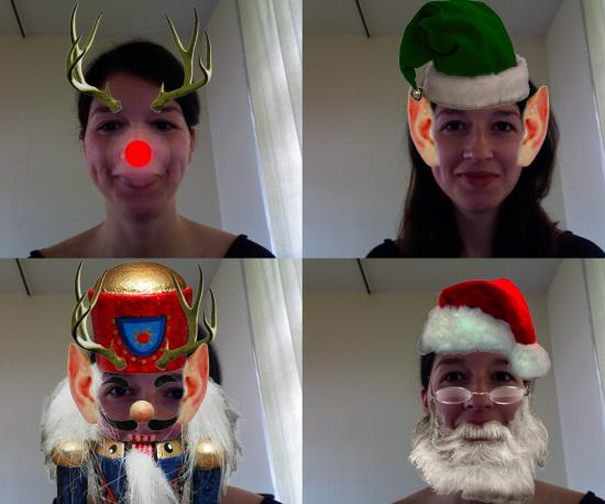 Dress Up Like Santa With A Photo Booth Download!