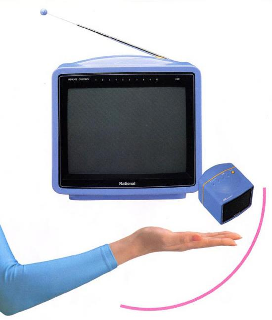 Vintage Geek: Panasonic Personal TV