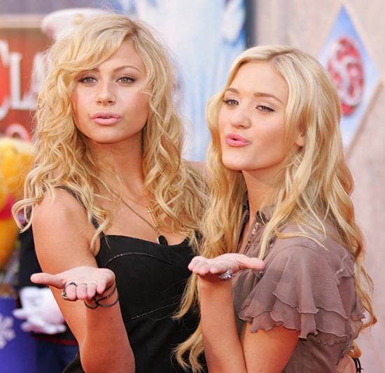 Aly & AJ Share How Chemicals React - In Simlish