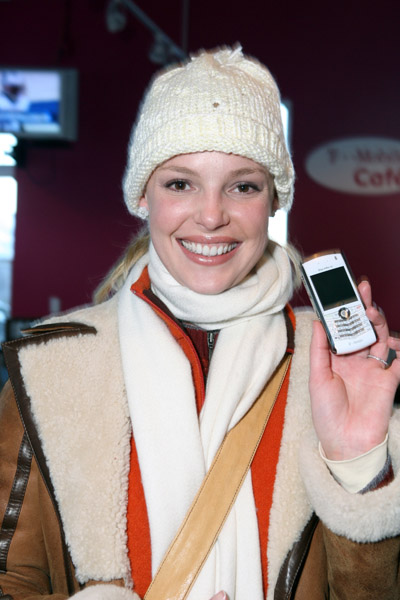 Celebrity Cell Phone Watch: Katherine Heigl