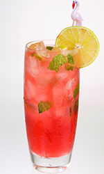Happy Hour: Pomegranate Mojito